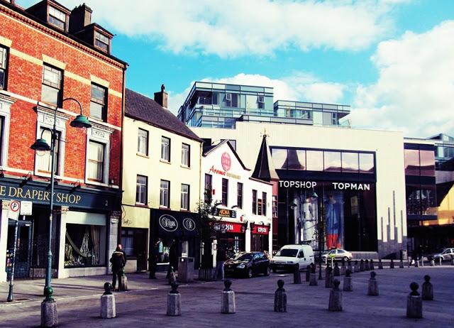 Irsko St. Patricks street