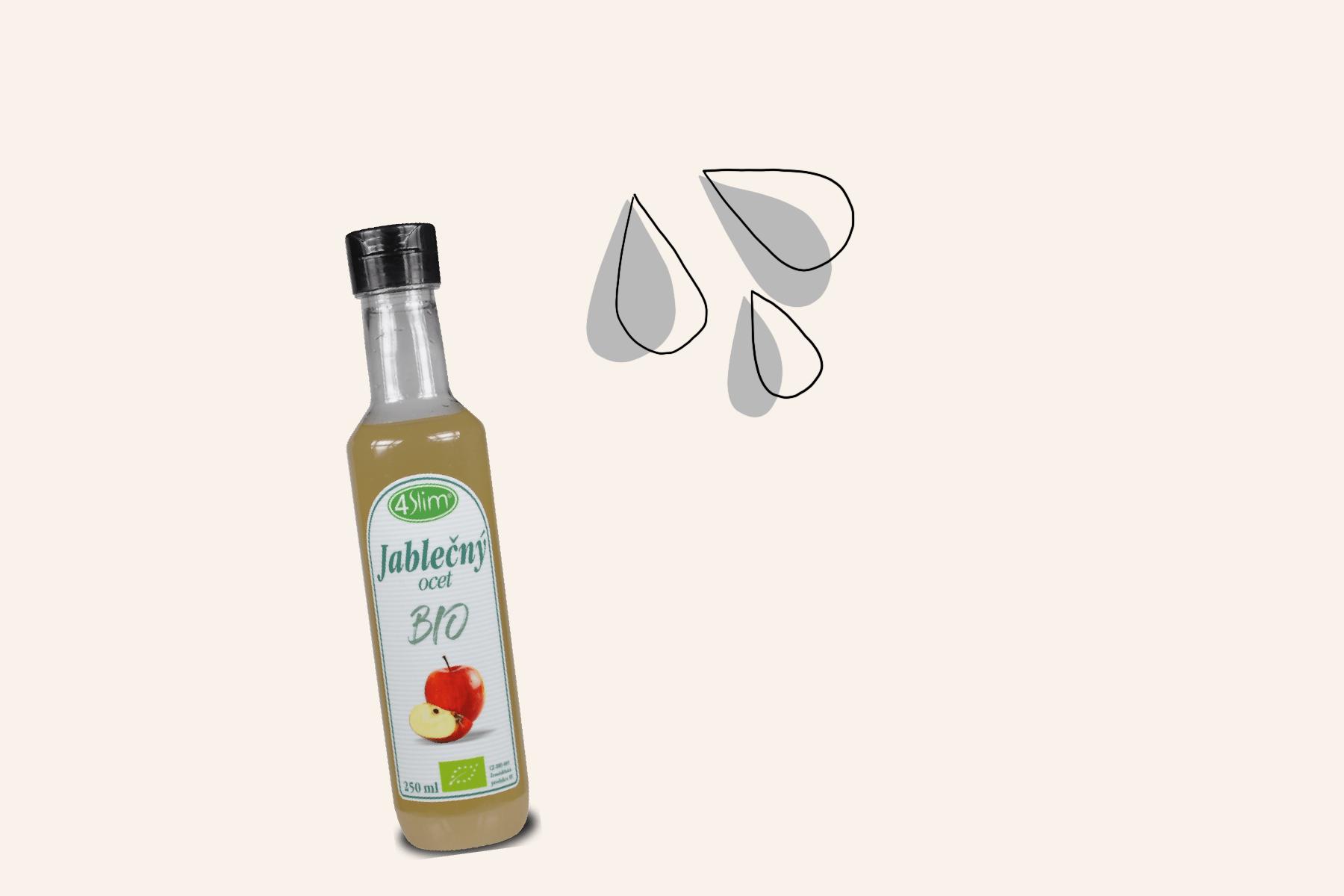 domácí kosmetické produkty diy ilustrace toner