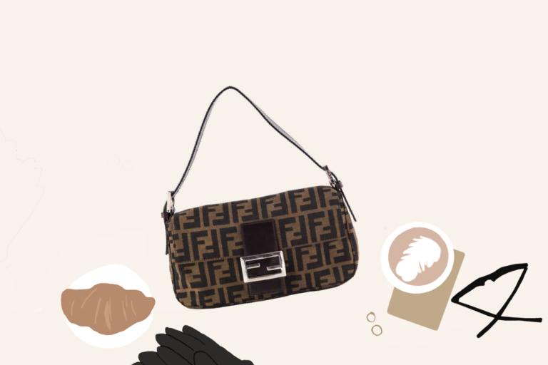 fashionpedie Fendi Baguette bag bagetová kabelka bagetka