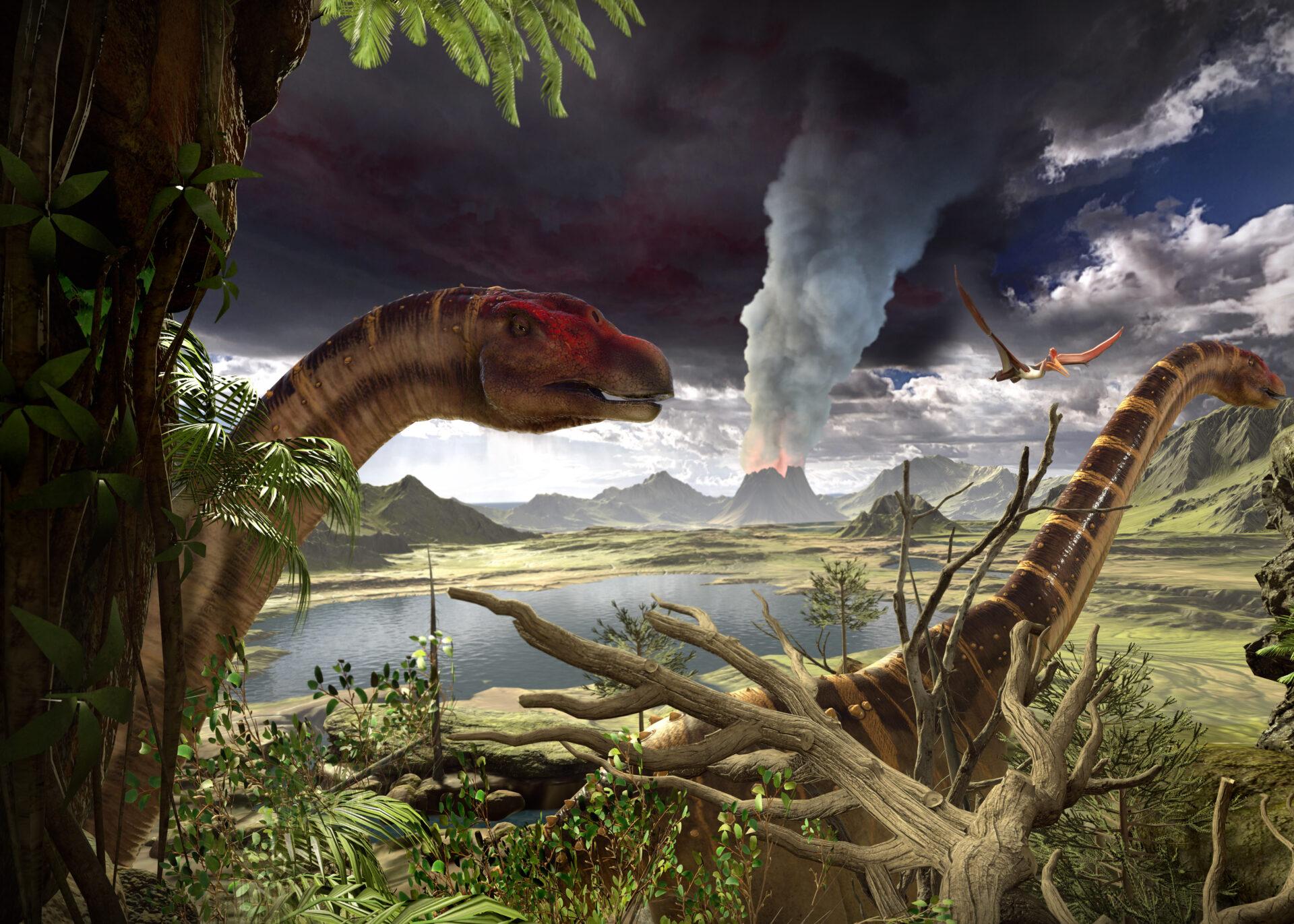 Dinosauři virtuální realita