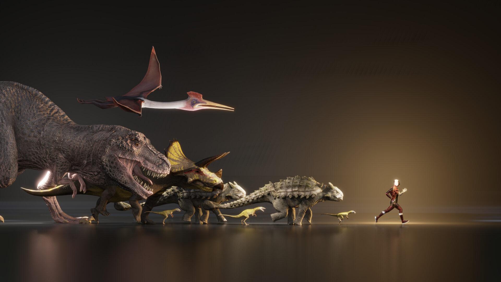 Dinosauři POP