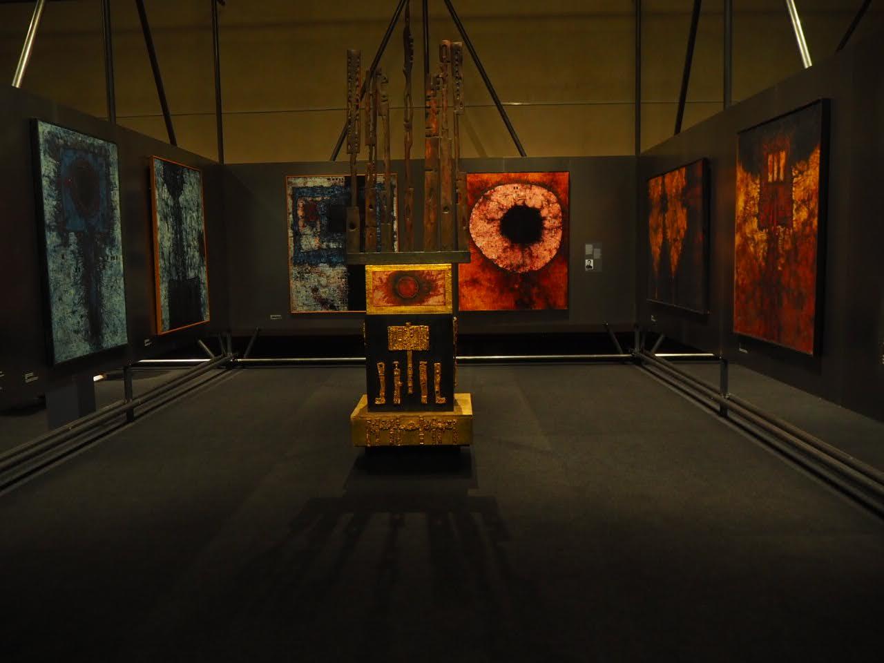 Mikuláš Medek Nahý v trní národní galerie výstava expozice