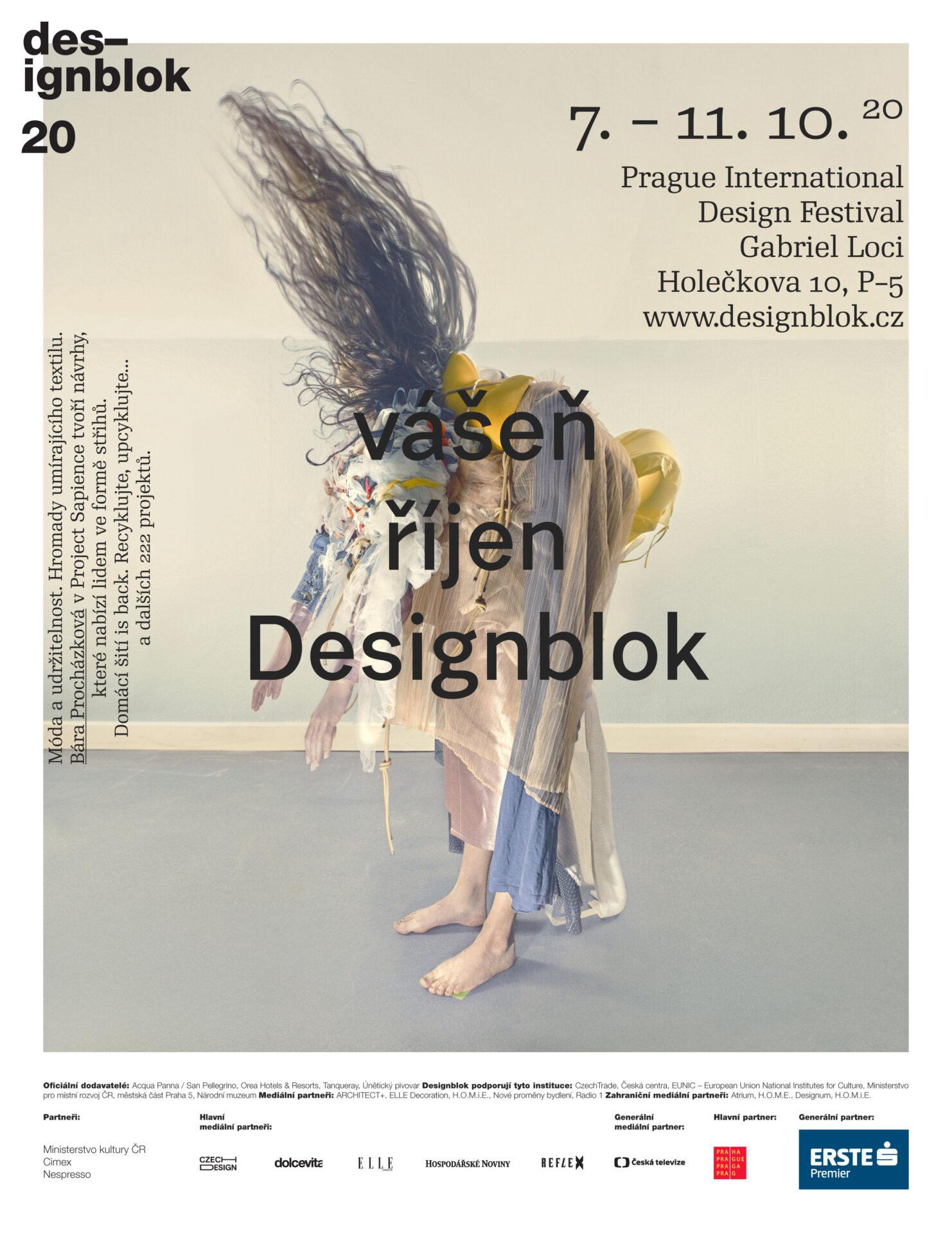 Designblok 2020 téma vášeň říjen