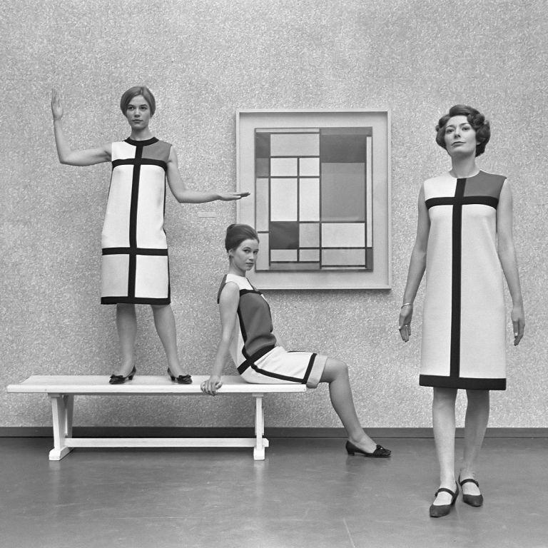 Yves Saint Laurent ikonické kolekce mondrian designér