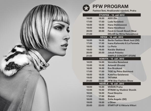 Pražský fashion víkend program