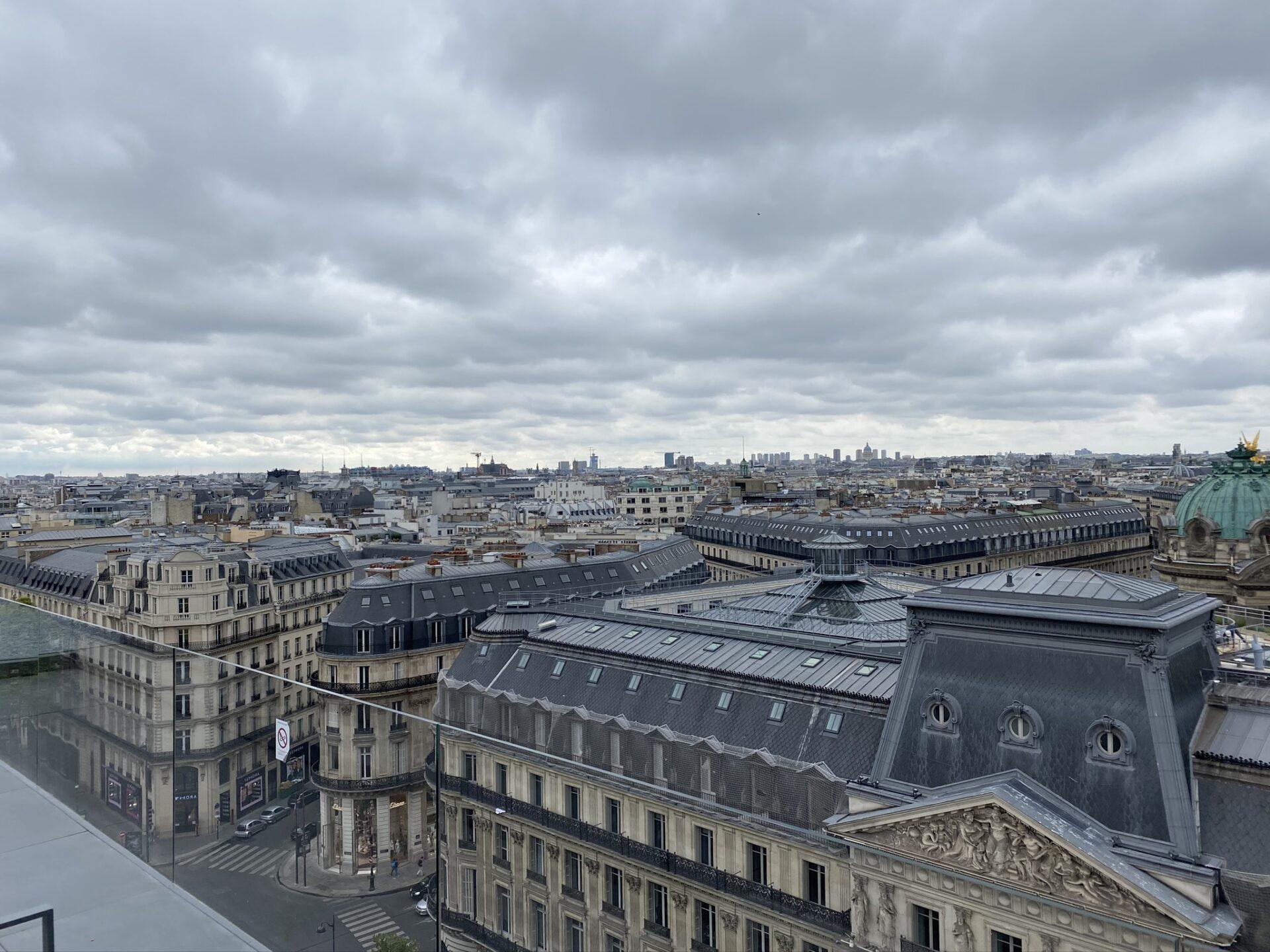 Paříž - výhled