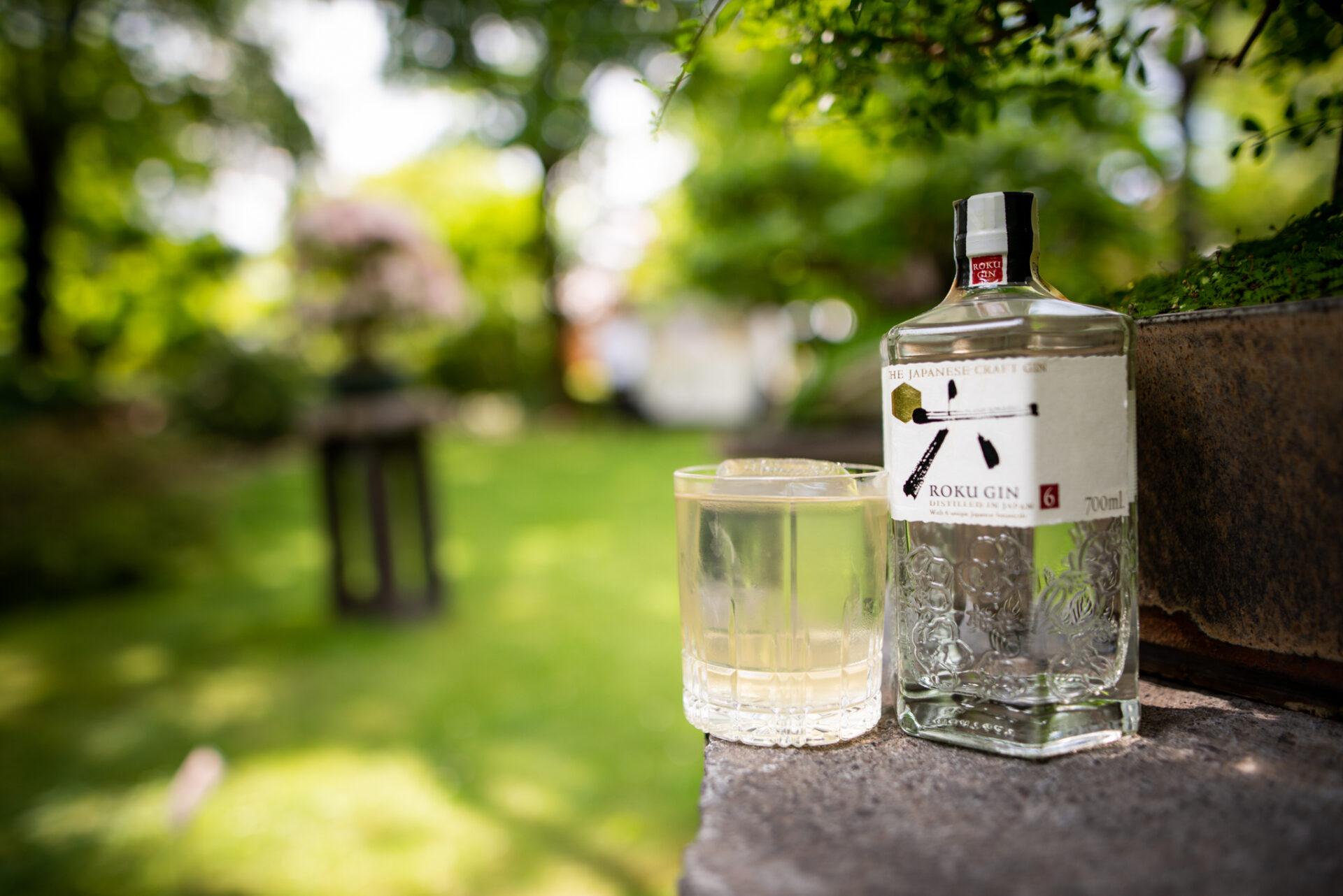 Roku gin teamlet letní drink recept