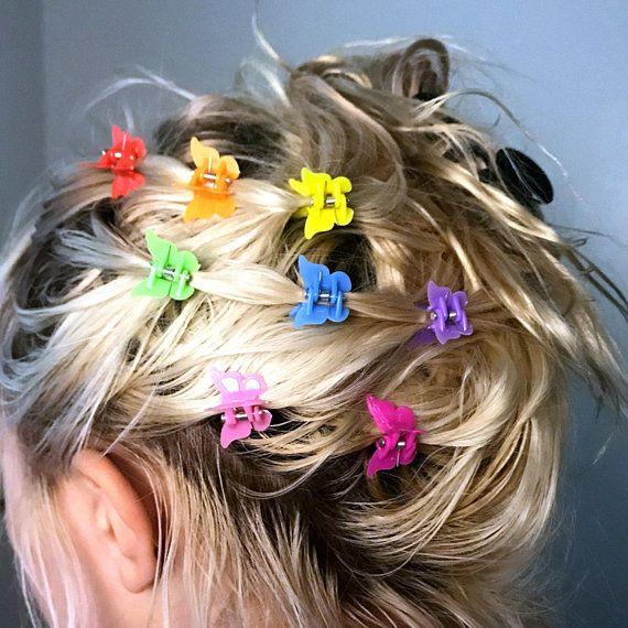 Y2K skřipce do vlasů